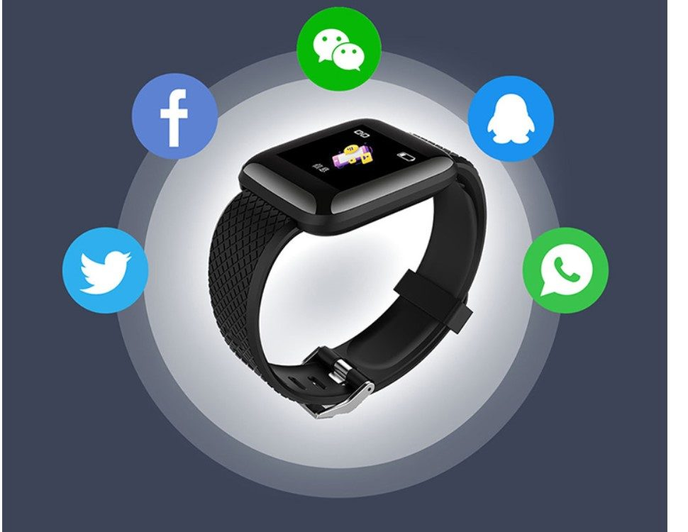Square Dial Fitness Tracker