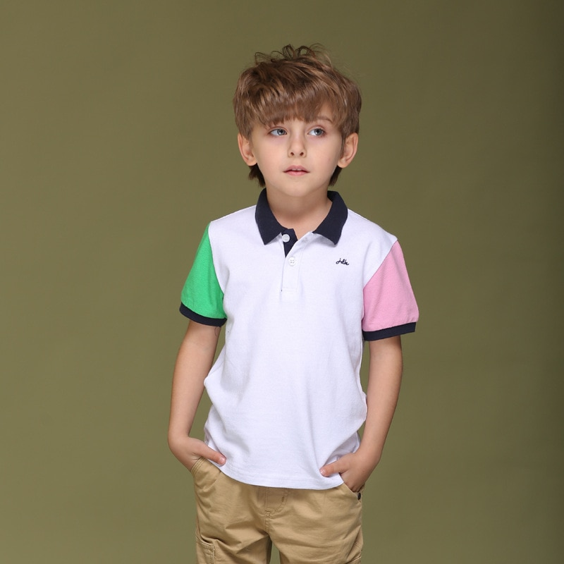 New 2020 Summer Children's T-shirts European and American Style Short-sleeved Boy's T-shirts Clothing For 4-14 Years kids