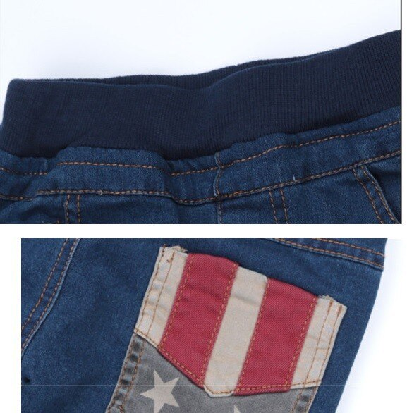 2020 child jeans spring and Winter all-match pentastar baby/kids/boys pants jeans
