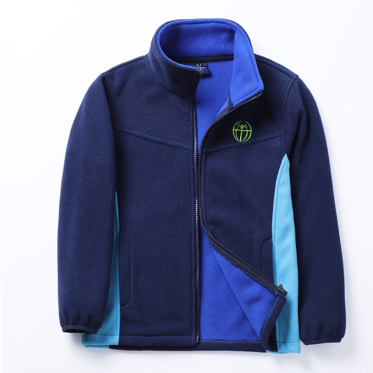 New 2019 spring autumn children kids jackets hoodies big boys girls polar fleece hoodies sweatshirts thick warm soft