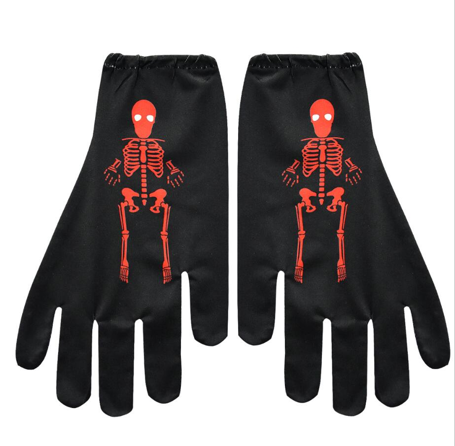 Skull Halloween Party Boys Hoodies Child Hoodie Gloves Infantil Roupa Menina Moletom Kids Clothes Menino Moleton Bluzy Chlopiece