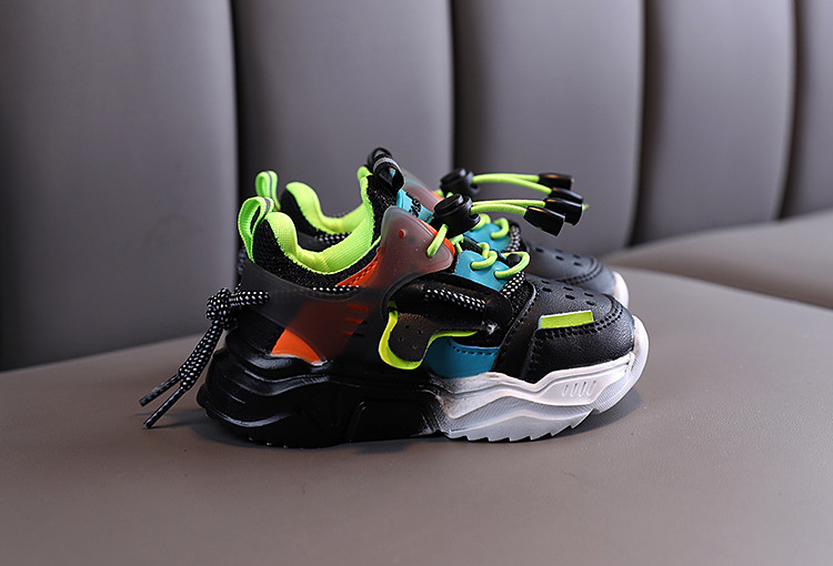 2020 Autumn Baby Girls Boys Casual Shoes Soft Bottom Non-slip Breathable Outdoor Fashion Kids Sneakers Children Sports Shoes