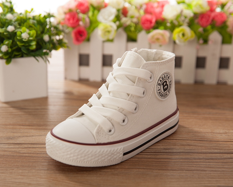 Canvas Children Shoes Sport Breathable Boys Sneakers Kids Shoes for Girls white Casual Child Flat Boots tenis infantil sapato
