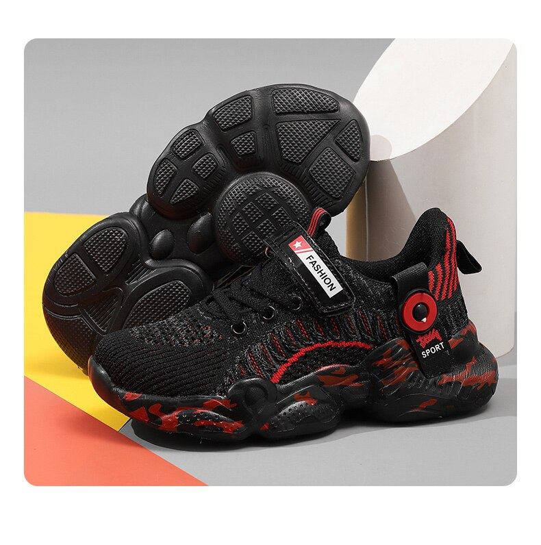 Hot Children's tennis running Shoes Boys Sneakers kindergarten student Shoes Breathable Comfortable boy casual Sports Shoes Kids