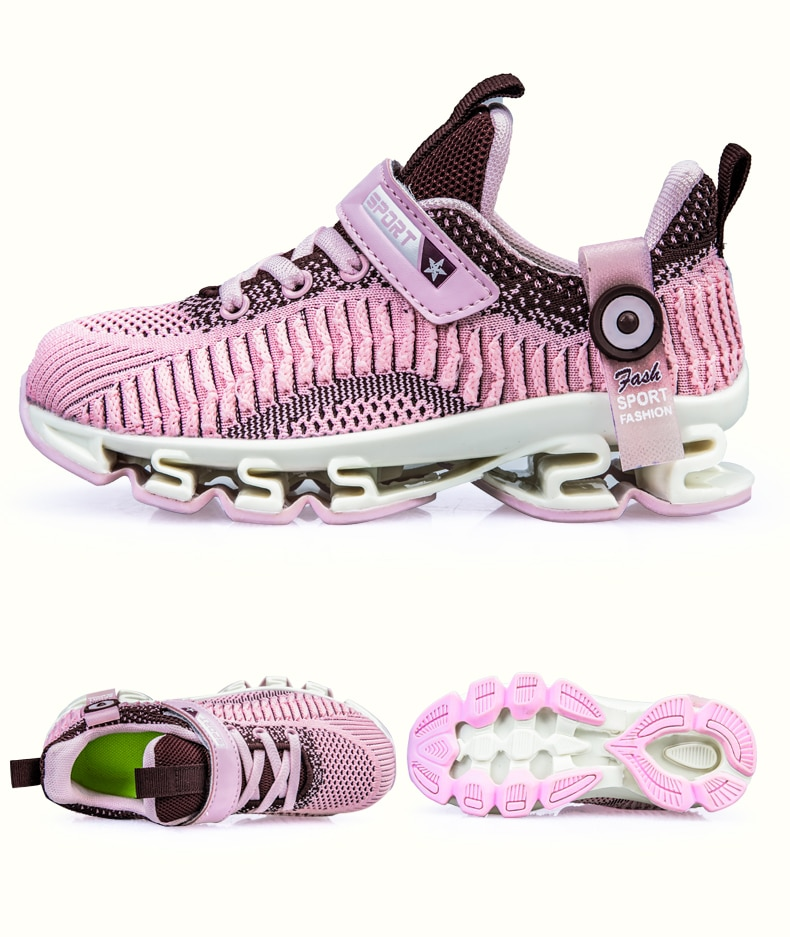 Big Children Shoes Boys Spring Autumn Sneakers Kid Lightweight Outdoor Sport Running Shoes Hollow Sole Tenis Infantil baby girl