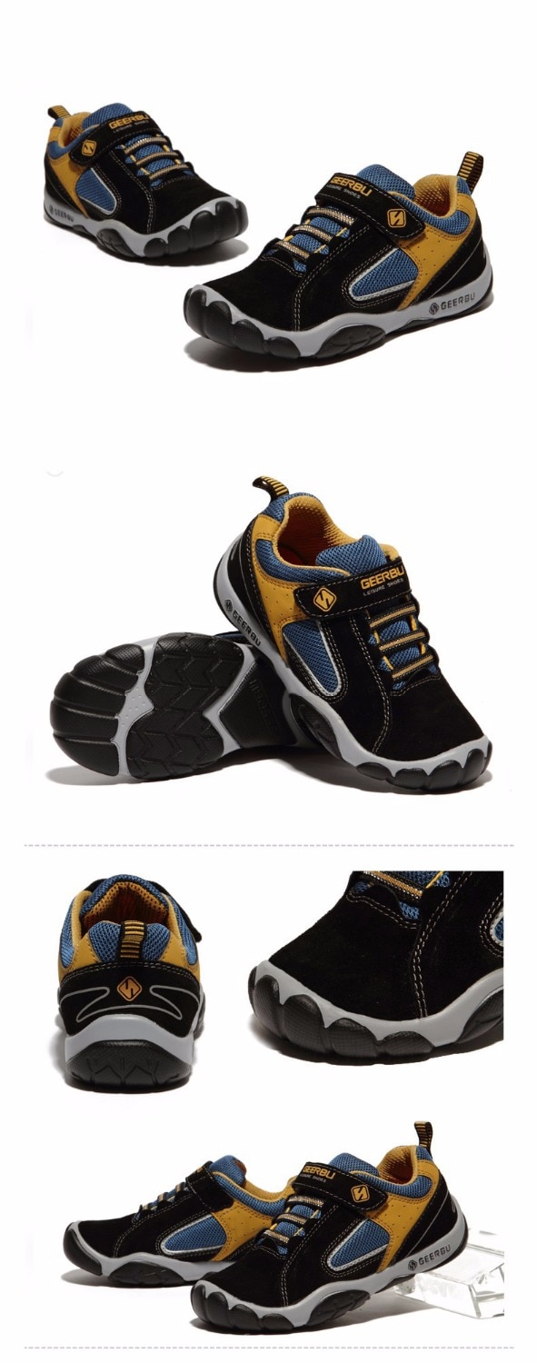2020 PU Leather Children Shoes Size 28-40 Waterproof Kids Sneakers Breathable Girls and Boys Sports Shoes Outdoor Trainers