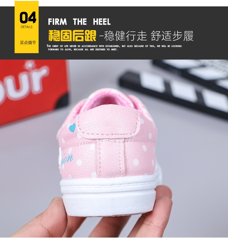 Kids Shoes Boys Sneakers Leather Waterproof Air Mesh Shoes White Children Sport Running Girls Sneaker Teen Brand School Trainers