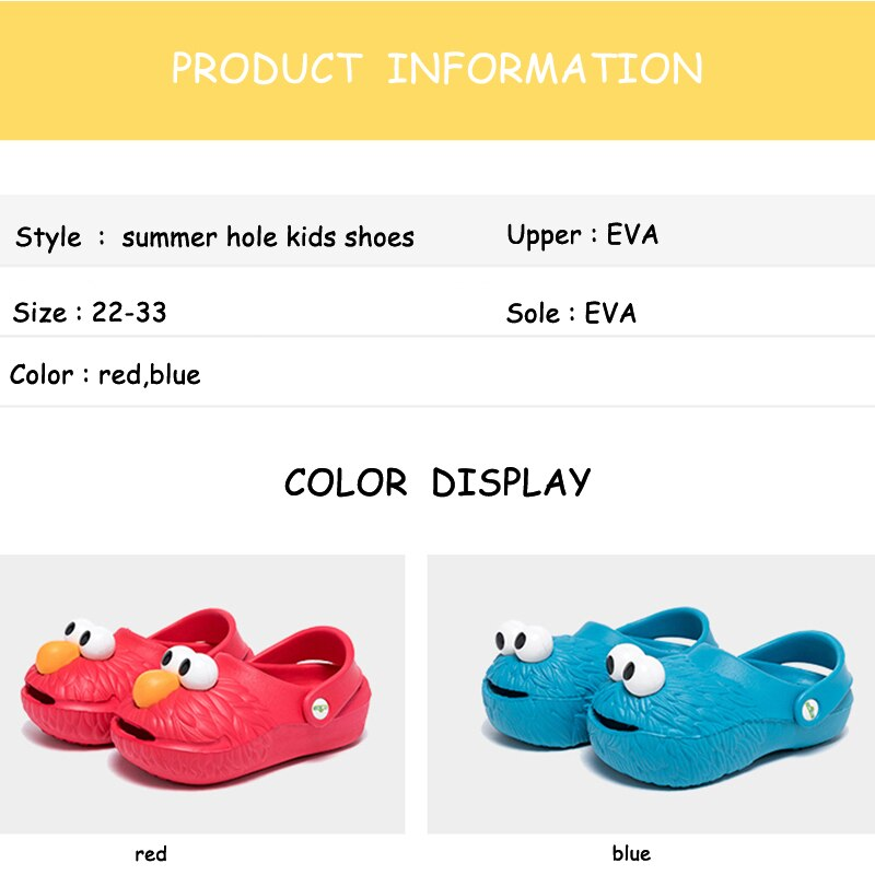Summer Kids Slippers Shoes Boys Cave Shoes Indoor Casual Non-slip Slippers Children Girls Beach Shoes Slippers
