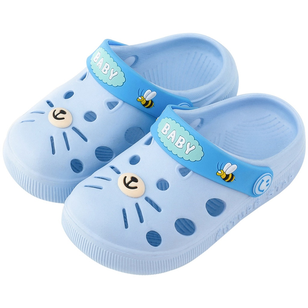 Slippers тапочки kids slippers тапочки детские Sandals Toddler Infant Baby Girl Boys Home Slippers Cartoon Floor Shoes Sandals