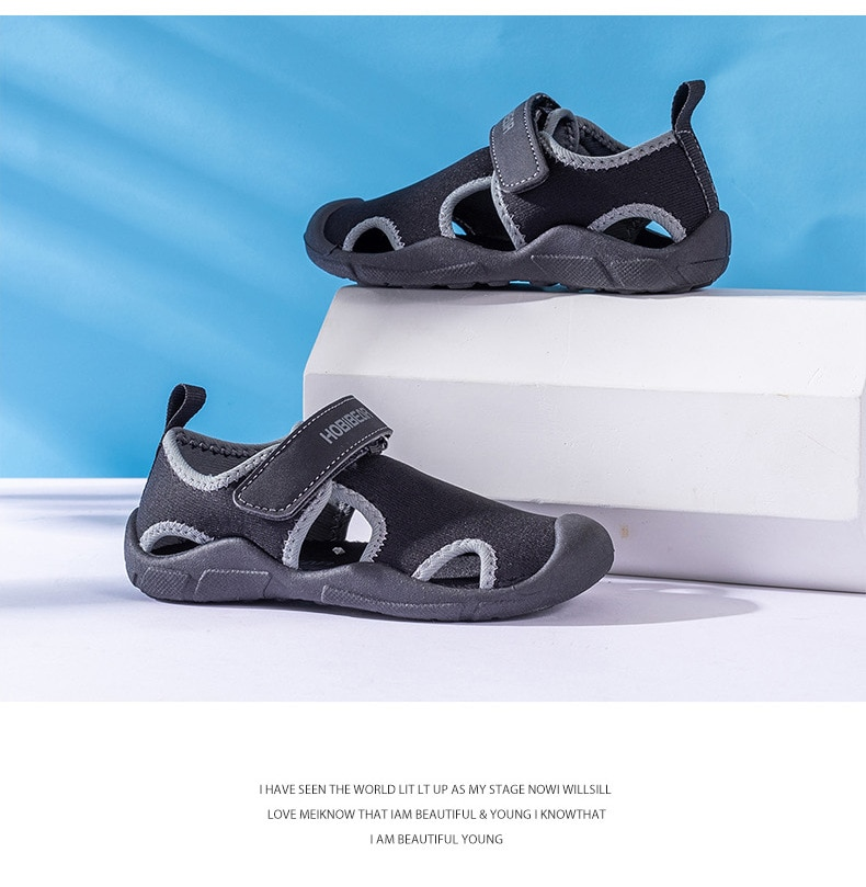 2020 Summer Baby Boys Girls Aqua Sport Sandals Soft Bottom Anti-slippery Toddler Baby Outdoor Beach Water Shoes 1-8 Years Old