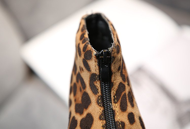 Kids Boots For Girls NEW 2020 Winter Fashion Leopard Children Shoes Boys Ankle Suede Leather Warm Plush Baby Girls Snow Boots