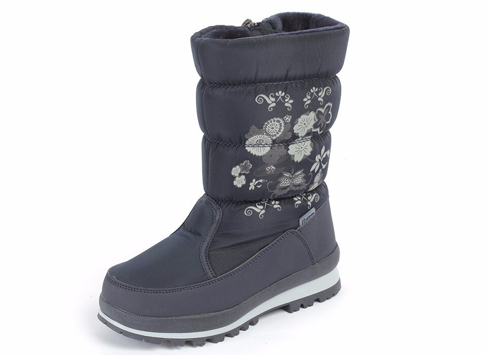 MMnun Winter Shoes For Children Fashion Girls Boots Warm Boots For Girls Anti-slip Snow Boots Size 31-36 ML9639
