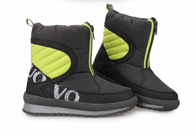 UOVO 2020 New Winter Shoes For Boys And Girls High Quality Fashion Kids Winter Boots Warm Snow Children's Footwear Size 30#-38#
