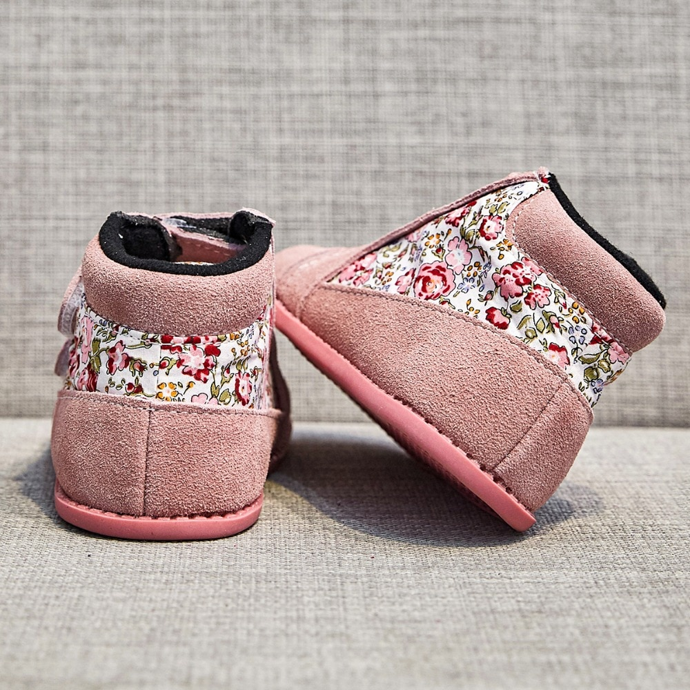 Tipsietoes 2020 New Winter Children Shoes Leather And Cloth Martin Boots Kids Snow Girls Boys Fashion Sneakers Chaussure Fille