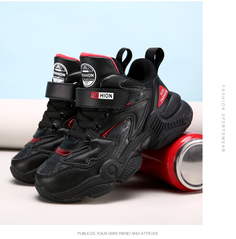 Autumn 2019 New Brand Boys Sneakers Kids Girls Boots School Shoes For Kids trainers winter children sport shoes