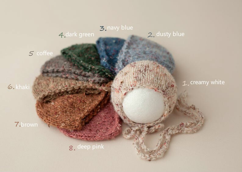 Baby Newborn Photography Props Knit Newborn  Hat Baby Photo Studio Photography Props Cap  Beanie Baby  Hat