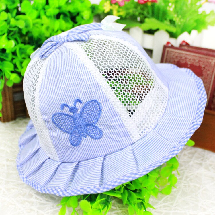 Clearance!!!Baby Girls Hat Mesh Cap Hats for Girls Fashion Bucket Sun Hat Infant Toddler Sun Caps Baby Girl Clothing Accessories