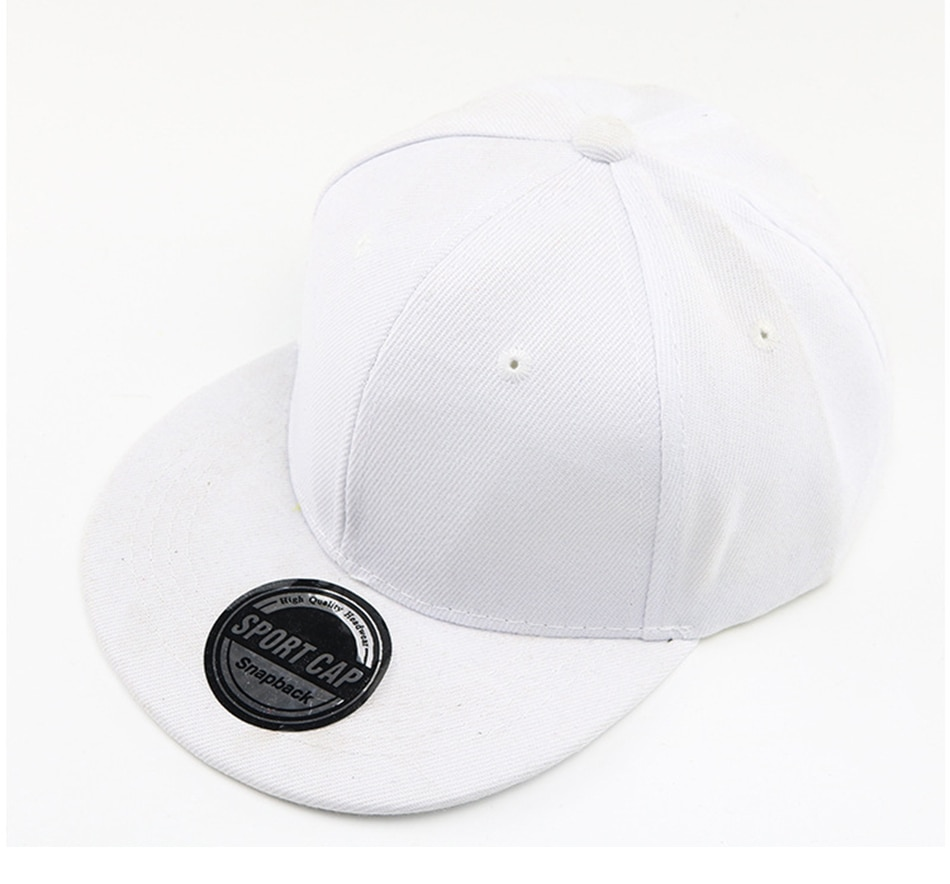 New Baby Baseball Cap For Boy Girl Hats Children's Hip Hop Caps Light Board Casual Advertising Solid Color Hat Kids Snapback