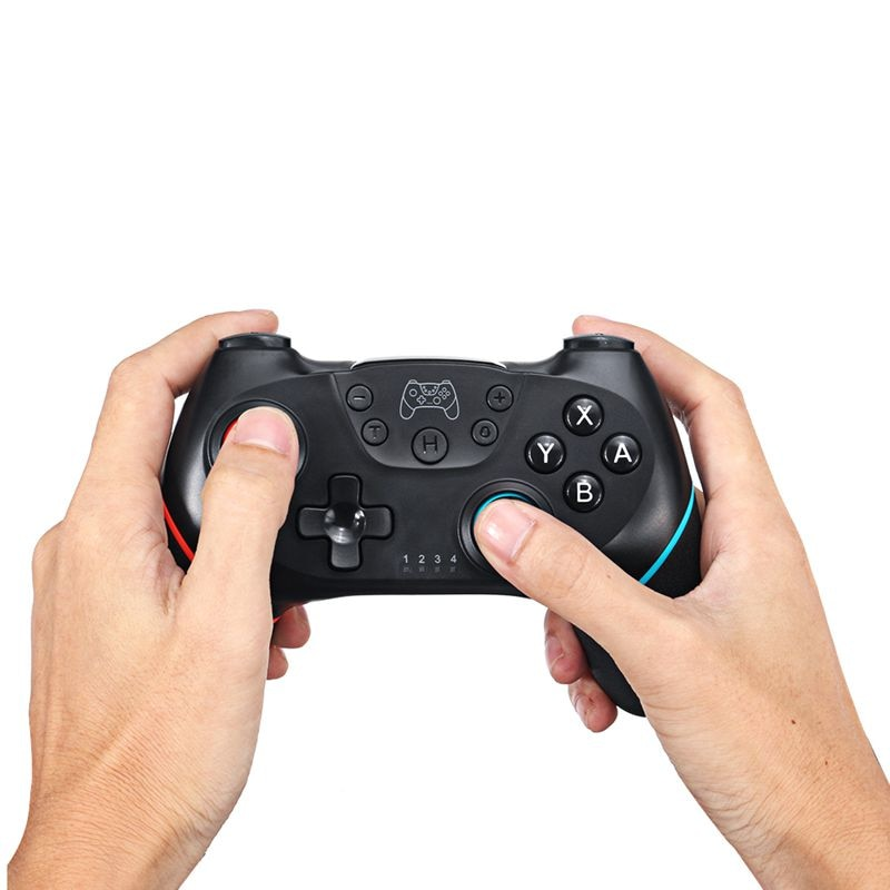 2020 Bluetooth Pro Gamepad for N-Switch NS-Switch NS Switch Console Wireless Gamepad Video Game USB Joystick Controller Control