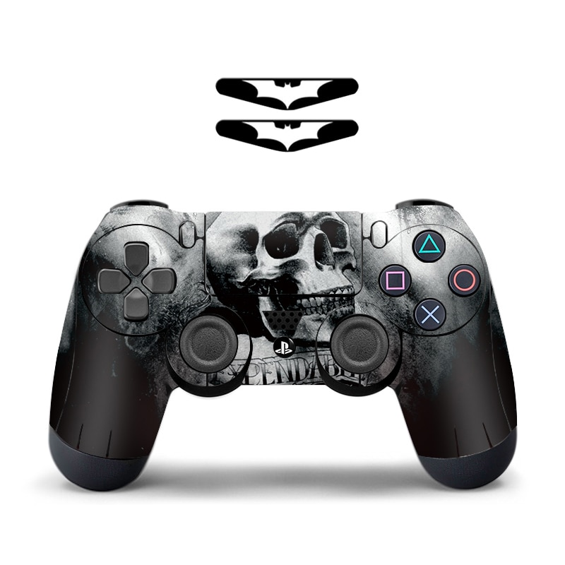 Blue Skull Protective Cover Sticker For PS4 Controller Skin For Playstation 4 Decal Accessories