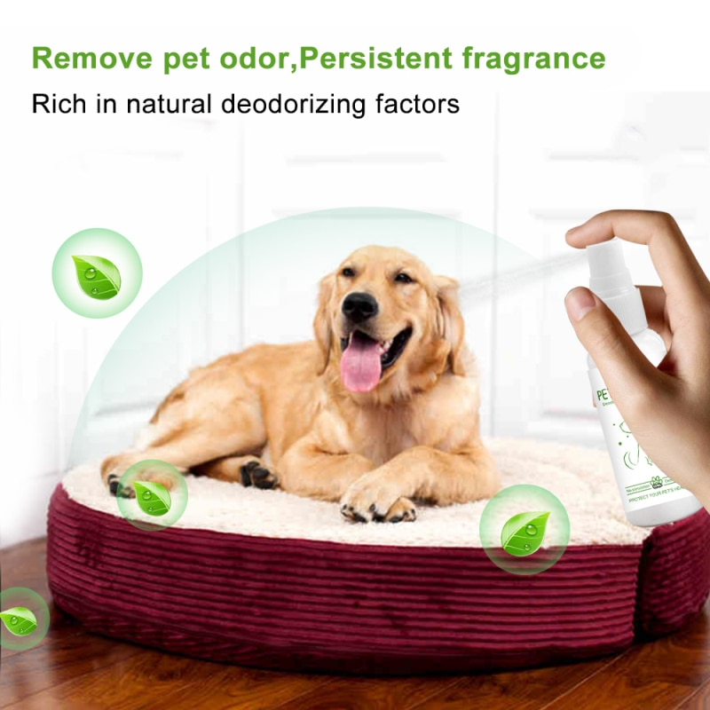 Pet Deodorant Drops Deodorant Perfumes Spray For Dogs Cats Pet Removing Odor Freshing Air Supplies Pet Perfumes Pet Products