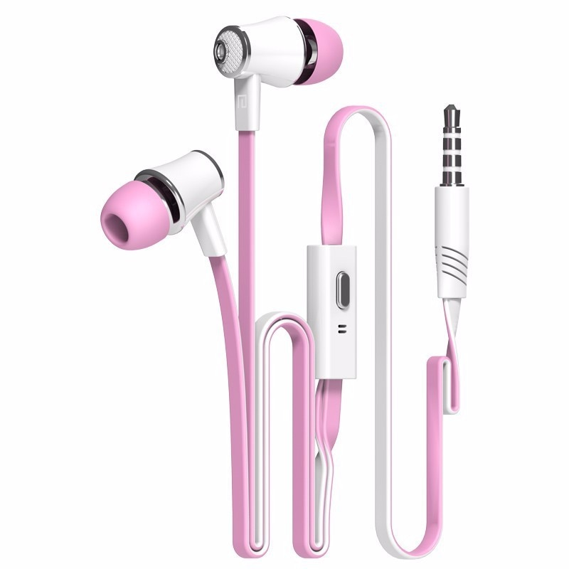 Langsdom Sport sweatproof wired in-ear Earphone JM21 portable gaming headset bass stereo earphones with microphone for music MP3