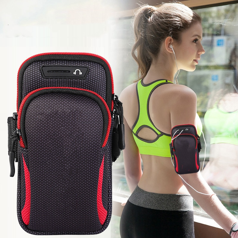 Universal Armband Sport Phone Case For Running Arm Phone Holder Sports Mobile Bag Hand for iPhone 11 Smartphones Under 6.5 inch