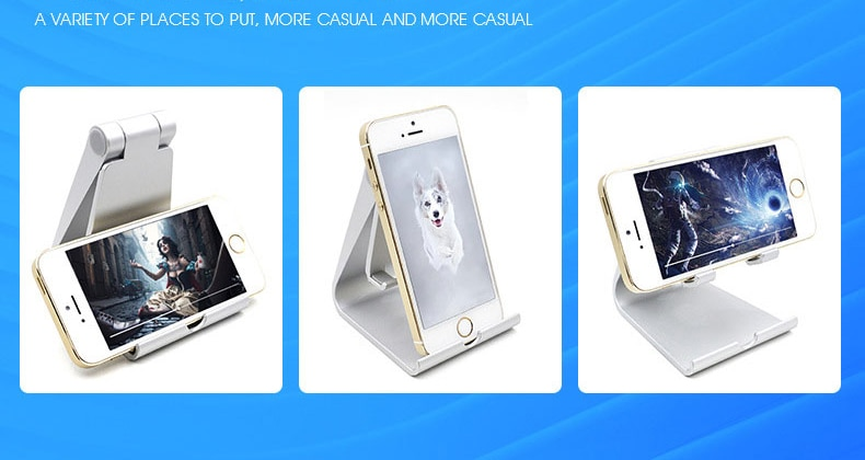 Rotating tablet flexible phone holder for iphone Universal cell desktop stand for phone Tablet Stand mobile support table