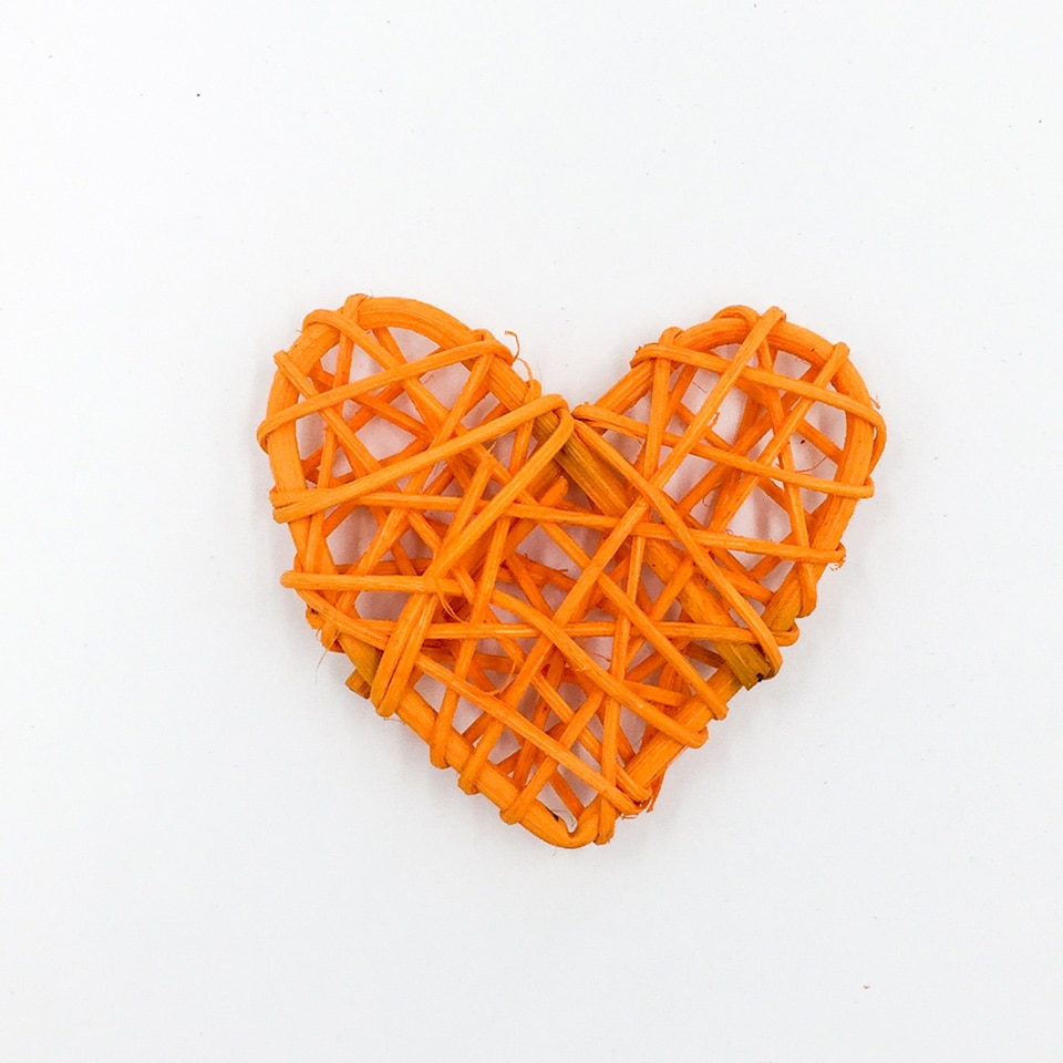 NICROLANDEE Heart Rattan Ball Colorful Sepak Takraw For Christmas Birthday Party Home Wedding Party Decoration  186