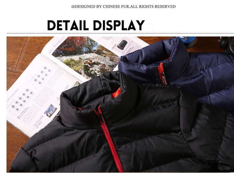 New Warm Thick Men Parka Jackets Winter Casual Mens Outwear Coats Solid Stand Collar Male Windbreak Cotton Padded Down Jacket