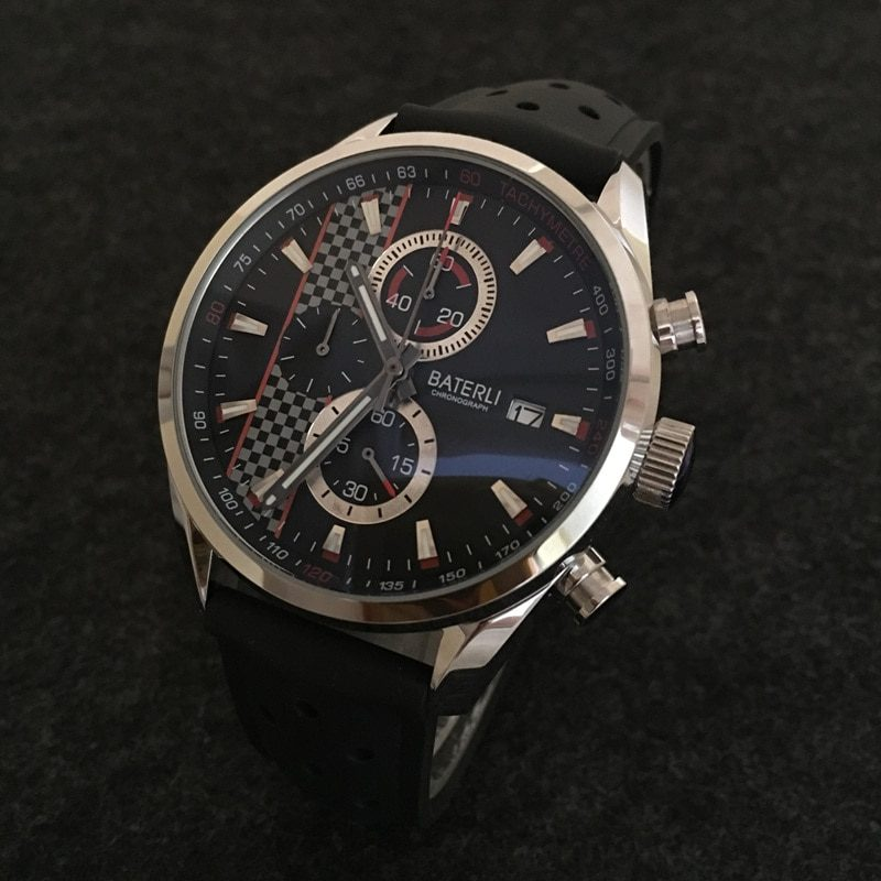 New Arrival High Quality Men Chronograph Watch Japanese VK Quartz Luminous Watch Stainless Steel Sports Men's watches