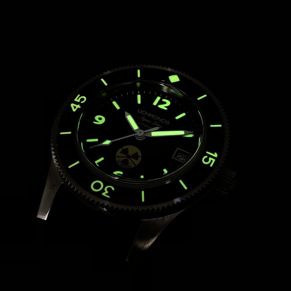 STEELDIVE 1952 Pike C3 Luminous Diver Watch NH35 Automatic 316L Stainless Steel Watch Men Mechanical Watches Sapphire 30ATM Dive