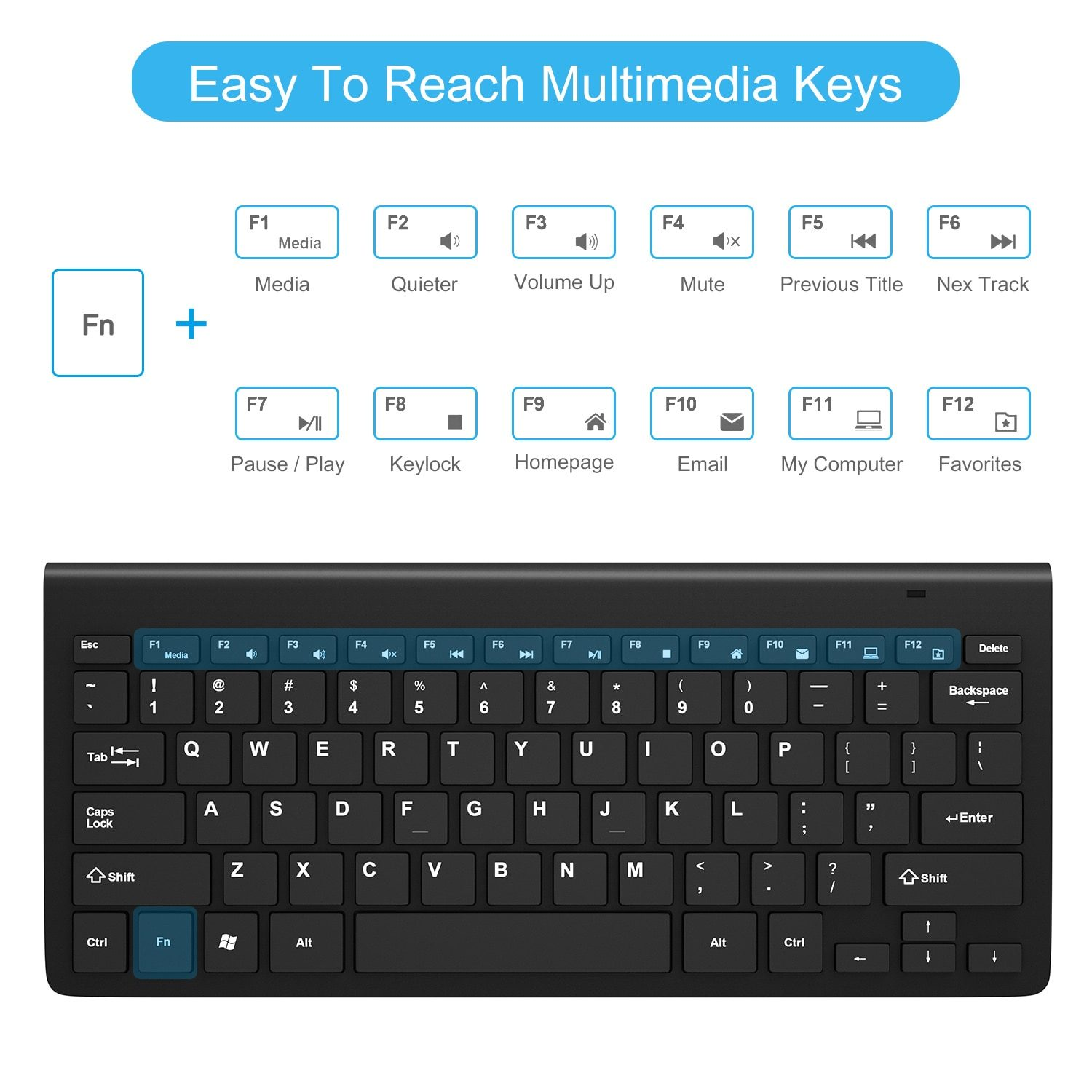 Wireless Keyboard and Mouse 2.4G USB Mini keyboard Mouse Combos Noiseless Ergonomic Keyboard with mouse set For PC Laptop TV