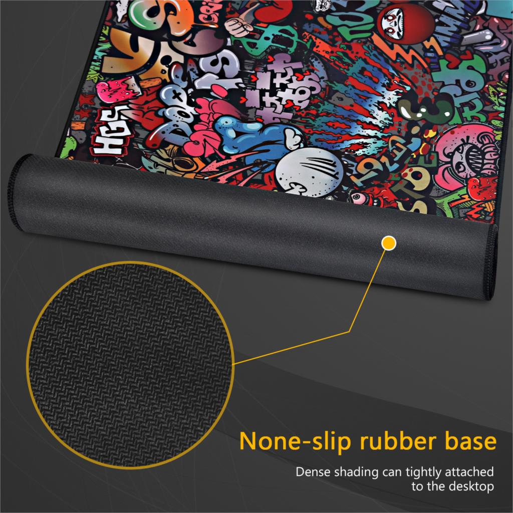 Gaming Mouse Pad Large Mouse Pad Gamer Big Mouse Mat Computer Mousepad XXL Carpet Rubber Surface Mause Pad Keyboard Desk Mat