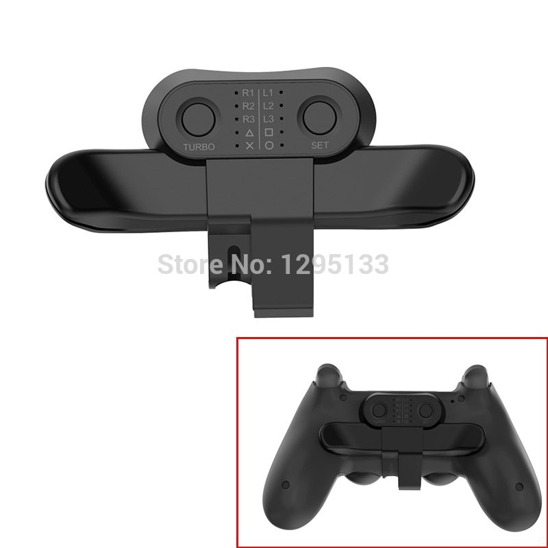 PS4 Controller Paddles For Playstation 4 Back Button Attachment For DualShock4 Joystick Rear Extension Keys Turbo Accessories