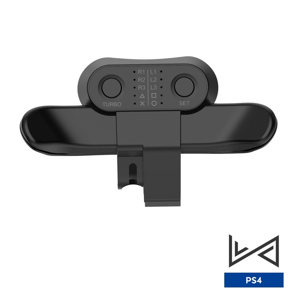 Replacement Paddles For DualShock4 Joysticks Back Button Attachment For PS4 Controller Rear Extension Keys