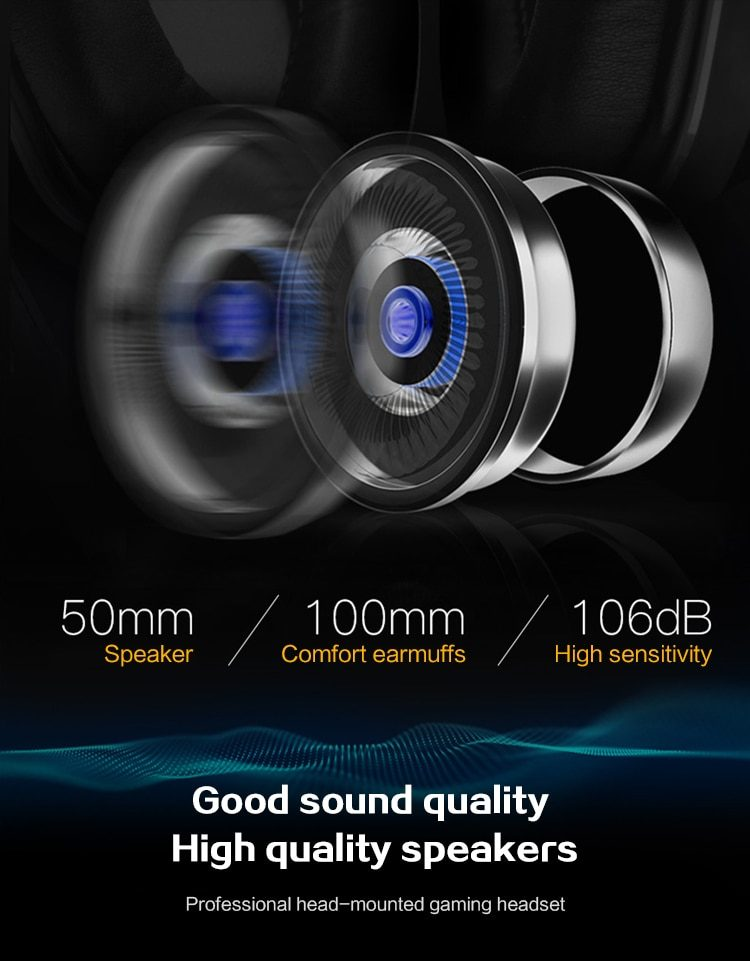 DATA FROG Wired Gaming Earphones for Mobile phone Headphones Mic Stereo Supper Bass for Sony PlayStation 4 PS4 Earphone
