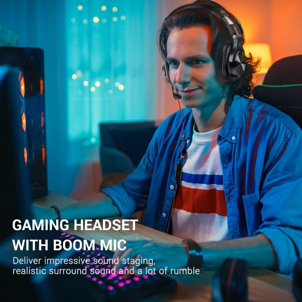 Oneodio A71 Gaming Headset Studio DJ Headphones Stereo Over Ear Wired Headphone With Microphone For PC PS4 Xbox One Gamer