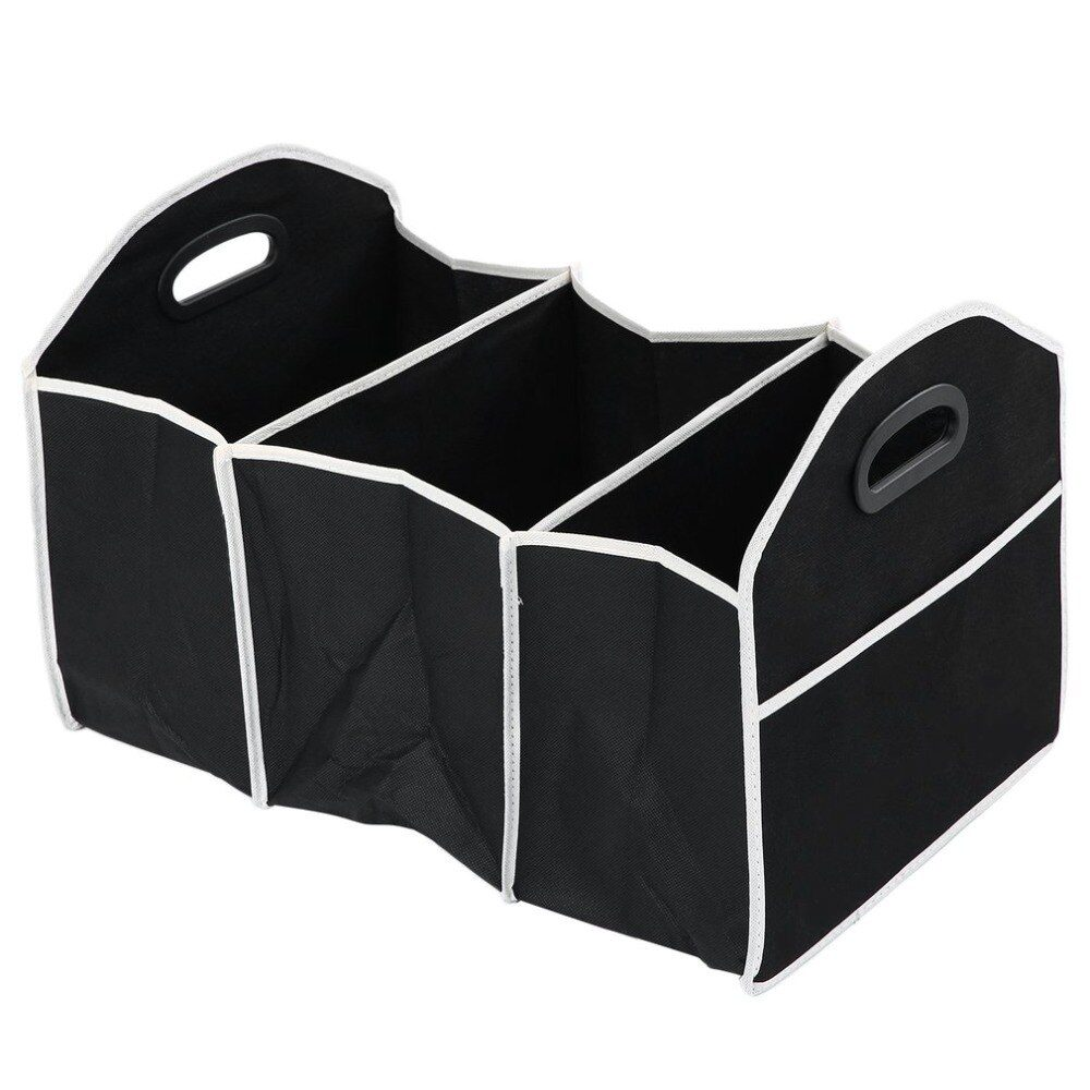 Car Multi-Pocket Trunk Organizer Large Capacity Folding Storage Bag Trunk Stowing and Tidying Trunk Organizer Car Accessories