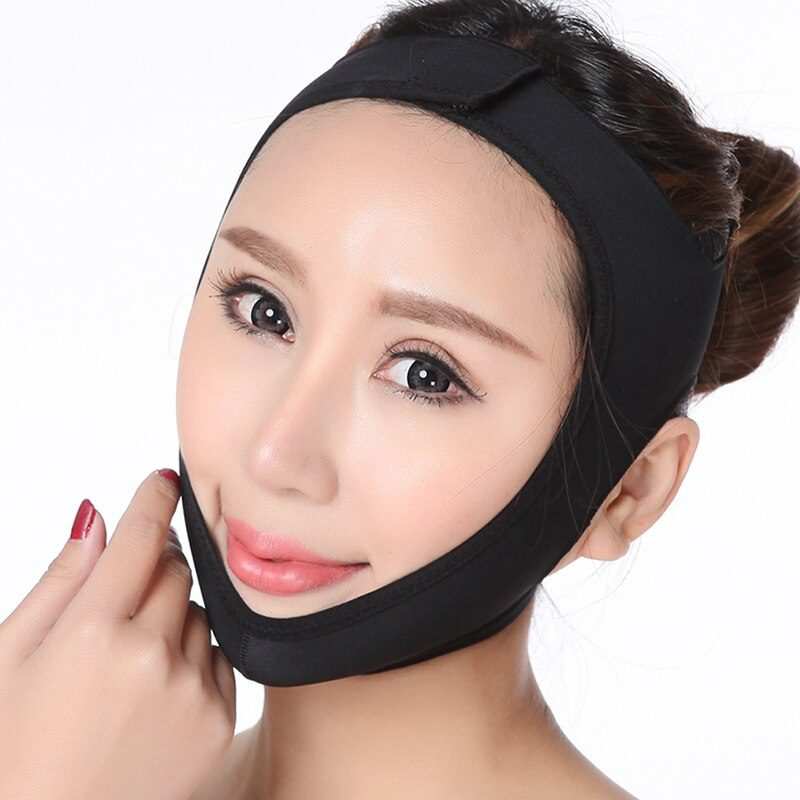 Face V Shaper Facial Slimming Bandage Relaxation Lift Up Belt Shape Lift Reduce Double Chin Face Thining Band Massage Hot Sale