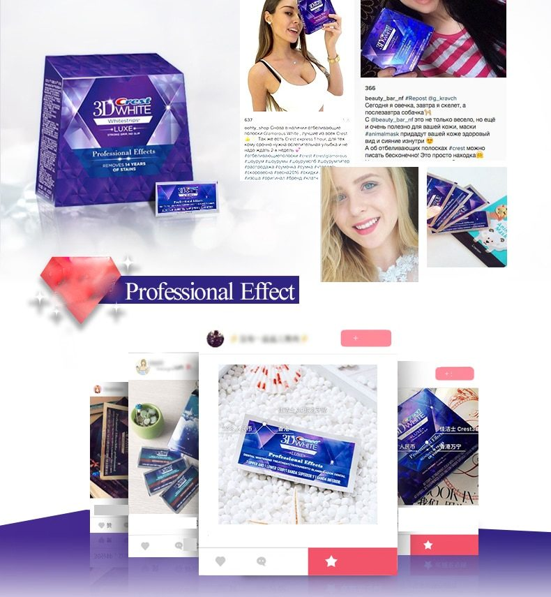 3D White Teeth Whitening Strips Professional Effects White Tooth Soft Bristle Charcoal Toothbrush Dental Whitening Whitestrips
