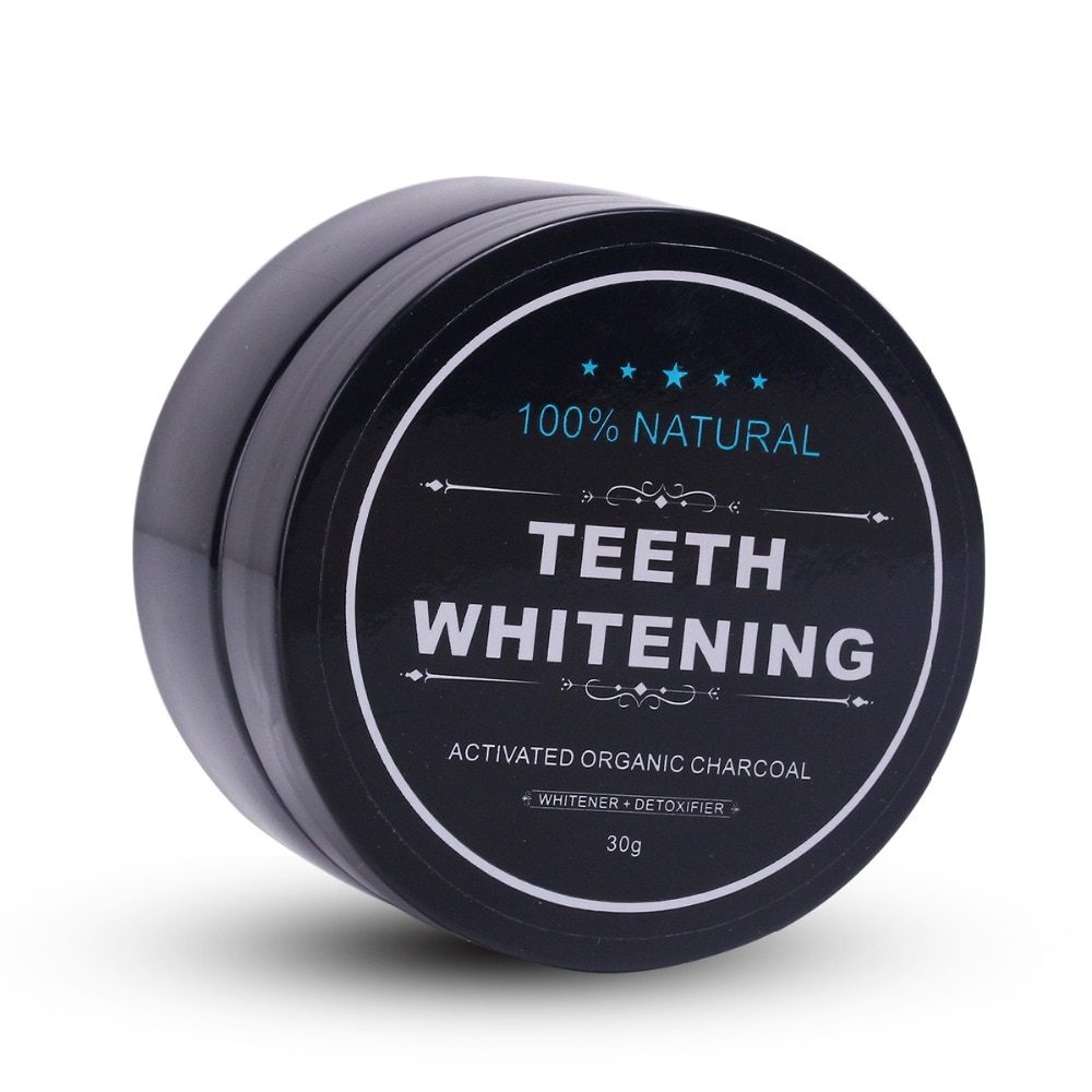 Daily Use 30g/60g Teeth Whitening Powder Activated Bamboo Charcoal Powder Tooth Whitening Scaling Powder Tartar Stain Removal