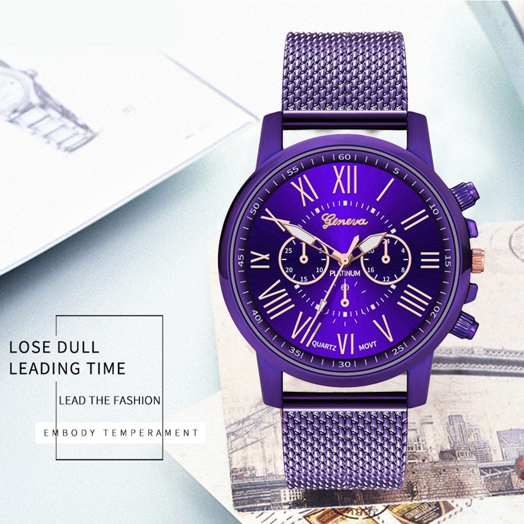 NEW red Luxury Men's Watch Stainless Steel Dial Casual Bracele Watch Male Relogio Gift For dropshipping male clock Masculino