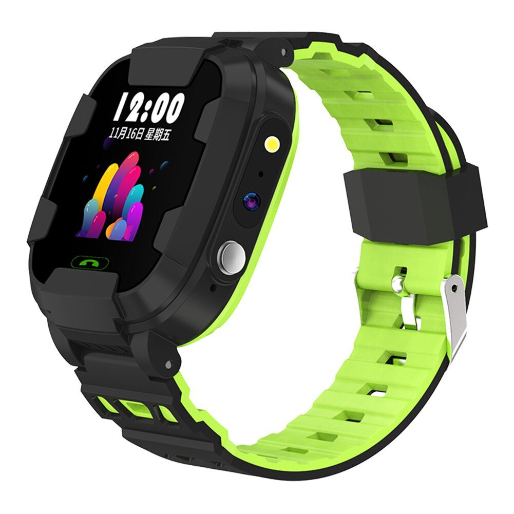 Fashion Kids Multifunction SmartWatch Phone with WiFi Positioning SOS Remote Monitor Intelligent IPX67 Camera Movement Watch