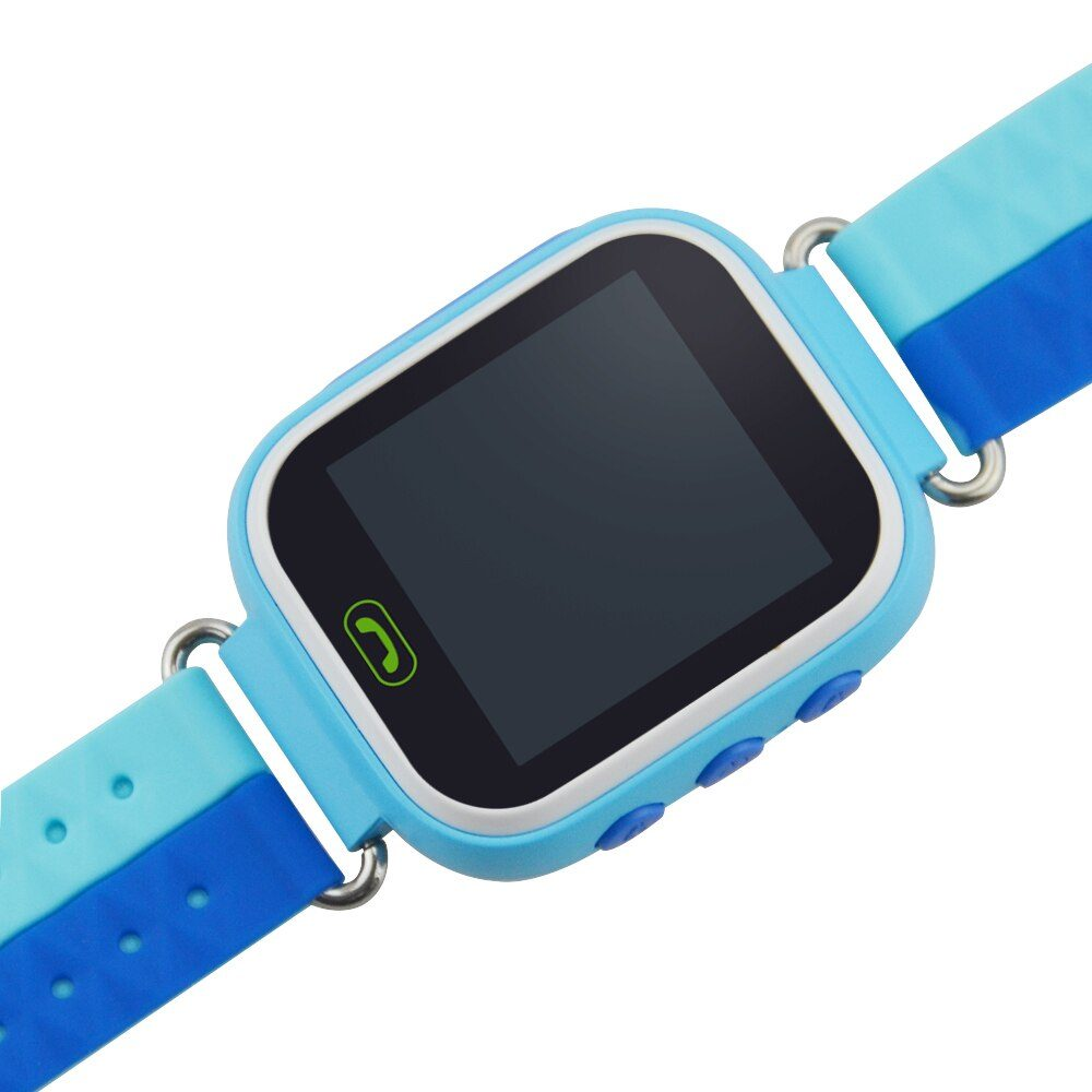 Q80 Child Smart Watch Phone Position Locator Watch LBS Location Watch Tracker for Kids With SOS Call Children Anti-lost Function