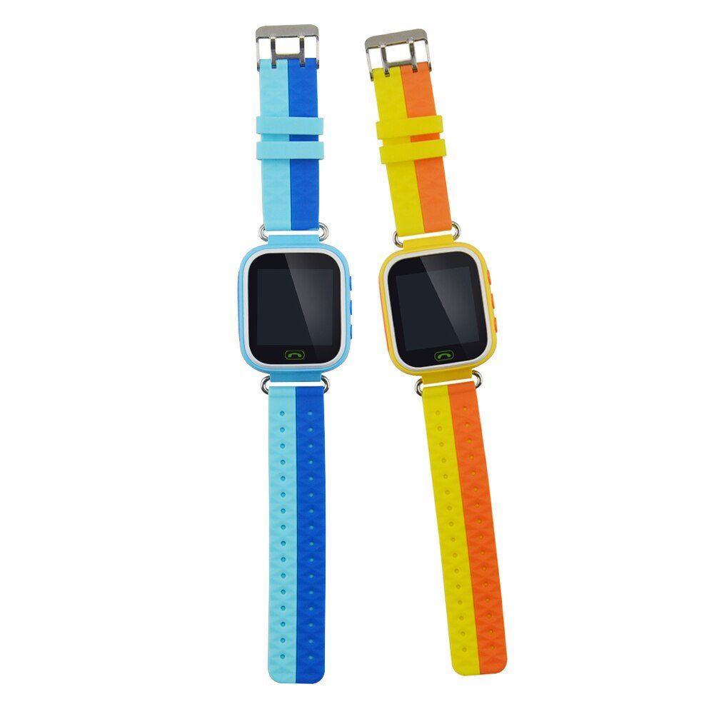 1.44 Inch TFT Touch Screen Smart Watch Q80 LBS Location Watch Tracker for Kids SOS Call Children Anti-lost Watch Locator