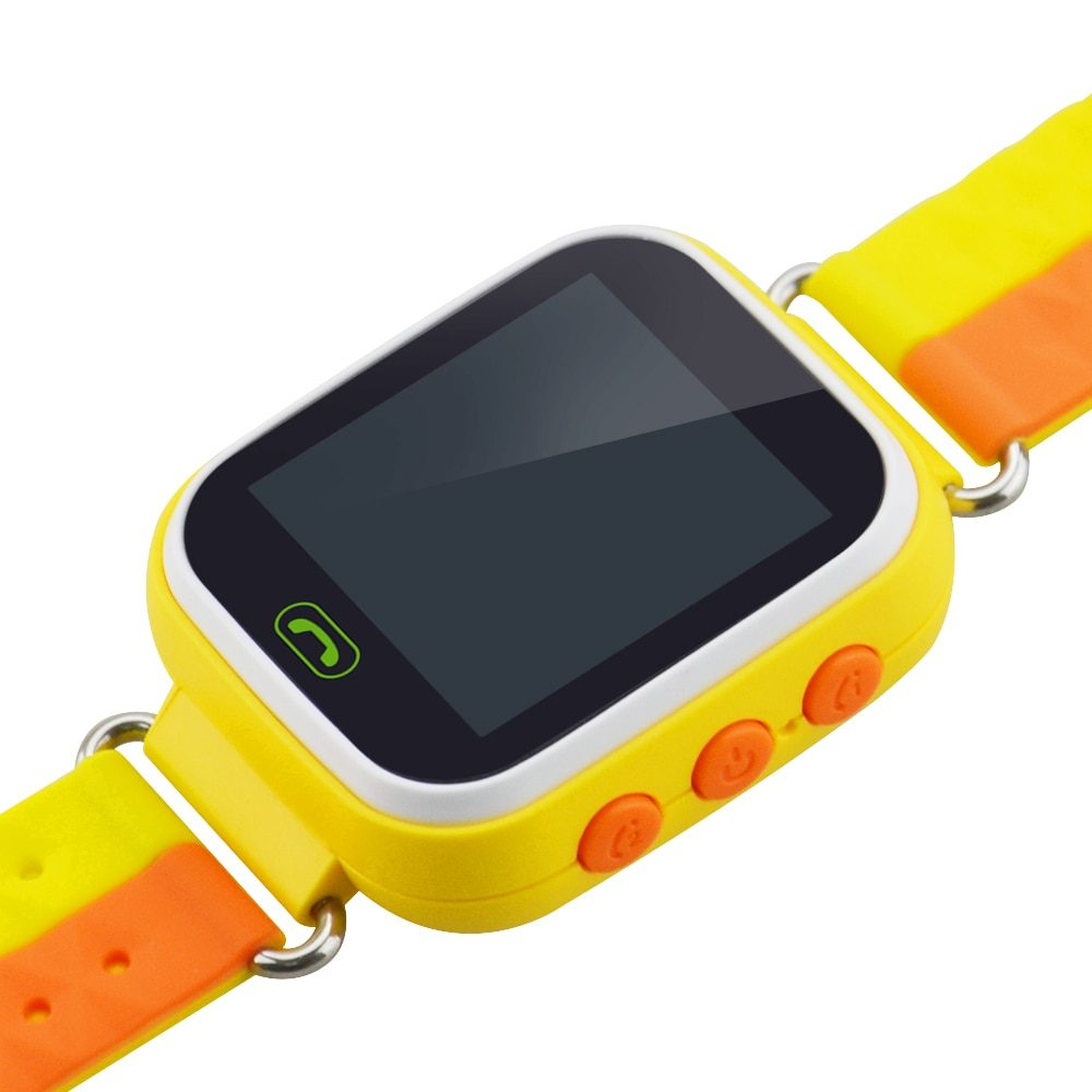 Touch Screen Smart Watch Q80 LBS Location Watch Tracker For Kid SOS Call Intelligent Alert Anti-lost Locator Voice Micro Chating