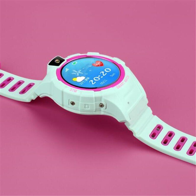 DW18S Multi-function GPS Smart Watch For Children Anti-lost Safety Cute Kid Watch With SOS Call Location Reminder Waterproof