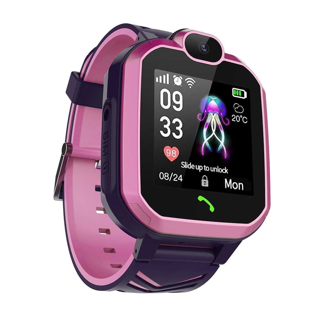 2019 New Smart watch LBS Kid SmartWatches Baby Watch for Children SOS Call Location Finder Locator Tracker GPS Anti Lost Monitor
