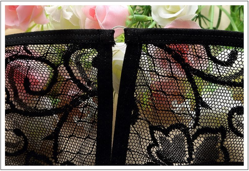Sexy Teddy Lingerie Porn Women Transparent Lace Babydoll Erotic Underwear Set Temptation Open Bra Crotch Baby Doll Sexy Costumes